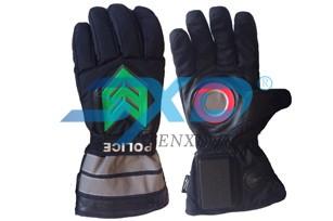 黑色警用发光手套—SXD-FG-04