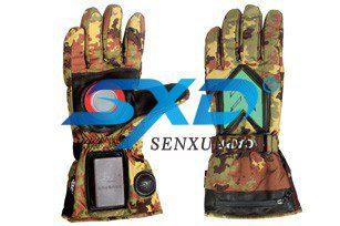 迷彩军用发光发热手套—SXD-FGR-03
