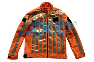 防袭刺猬衣长袖(橙色)