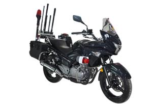 摩托车式电子攻击与反制系统